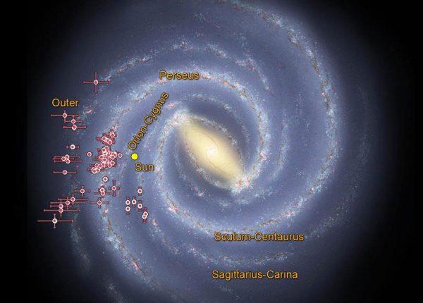 15.3 מבנים הספירליים בגלקסיות